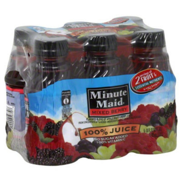 Minute Maid Mixed Berry 100% Juice
