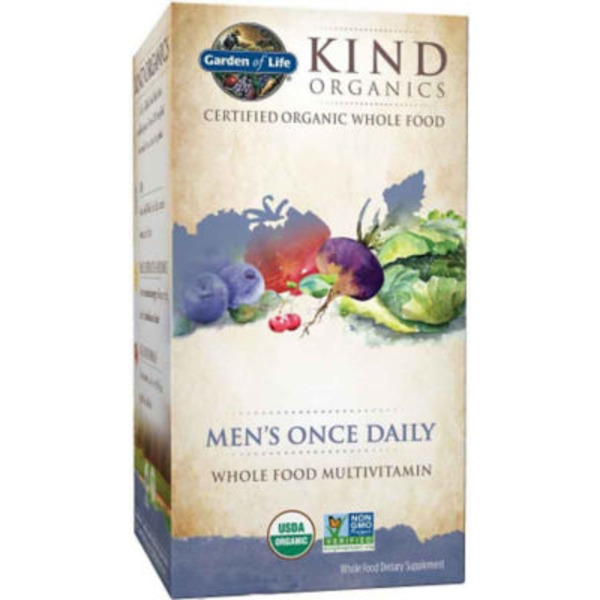 Garden of Life Men's Once Daily Multivitamin