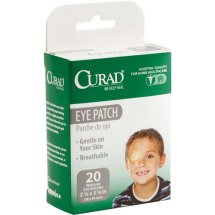 Curad Eye Patches, Regular, 20 count