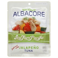 Sea Fare Pacific Wild Caught Albacore Jalapeño Tuna
