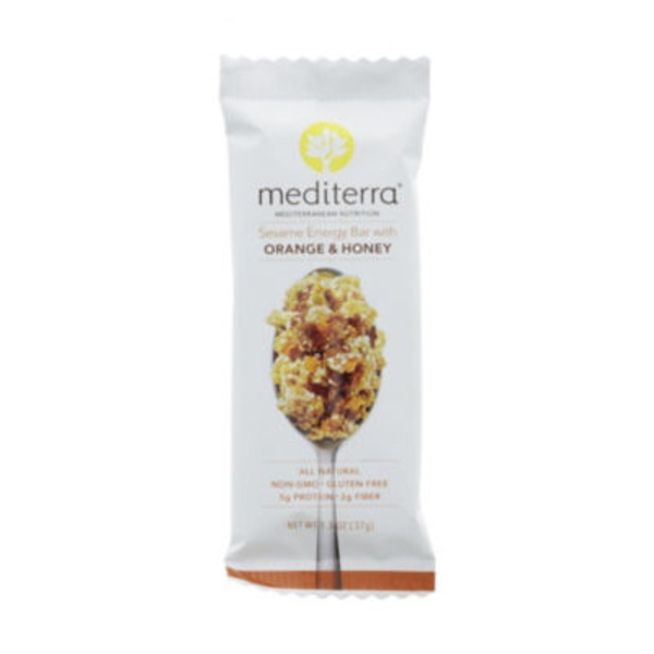 Mediterra Orange Honey Sesame Bar