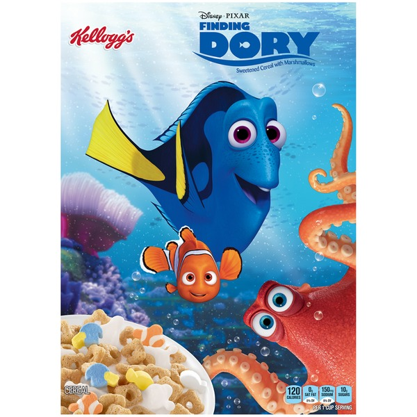 Kellogg's Disney Pixar Finding Dory Cereal