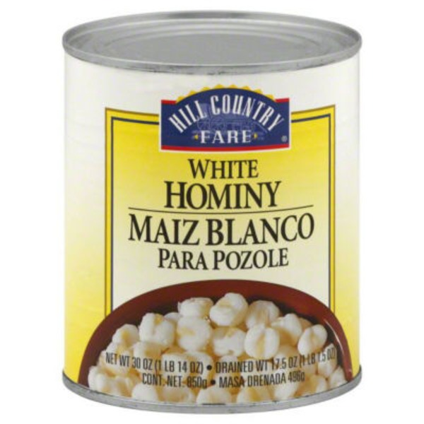 Hill Country Fare White Hominy