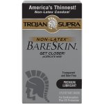 Trojan Supra Non-Latex Bareskin Condoms, 6 ct