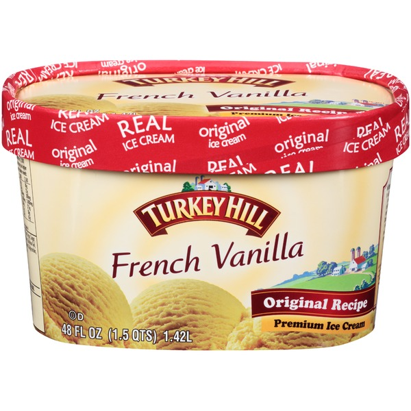 Turkey Hill French Vanilla Original Recipe Premium Ice Cream
