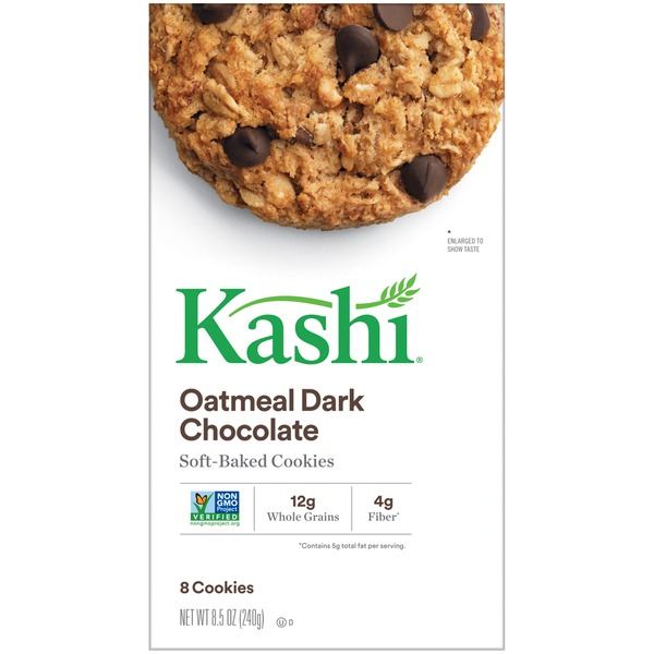 Kashi Oatmeal Dark Chocolate Soft-Baked Cookies