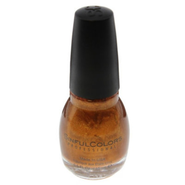 Sinful Color Sinful .5floz Nail Color 1503 Copper Pot
