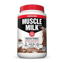Muscle Milk Chocolate Lean Muscle Protein Powder, 30.9 oz