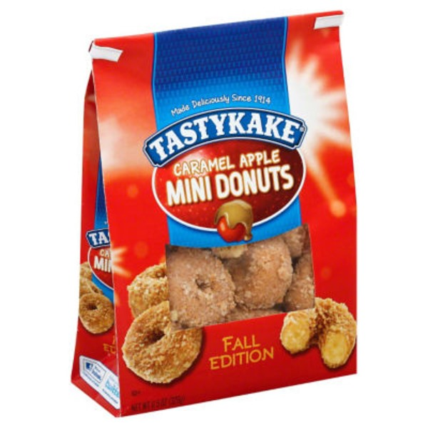 Tastykake Caramel Apple Mini Donuts
