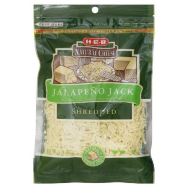H-E-B Shredded Jalapeño Jack Cheese
