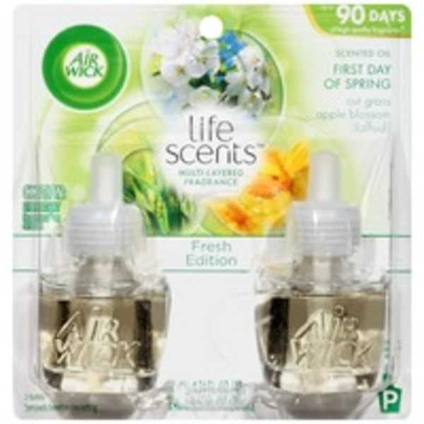 Air Wick Life Scents Fresh Edition Scented Oil First Day of Spring Air Freshener Refill