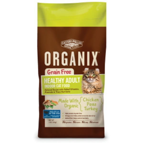 Castor & Pollux Chicken Peas and Turkey Healthy Adult Dry Cat Food