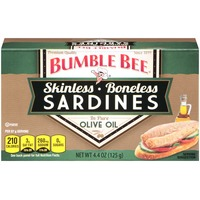 Bumble Bee Skinless Boneless in Olive Oil Sardines