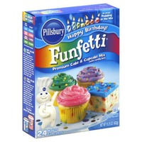 Pillsbury Funfetti Premium Cake Mix With Candy Bits