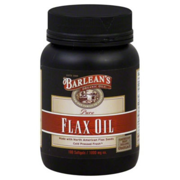 Barlean's Pure Flax Oil Softgels
