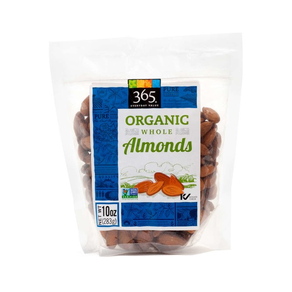 365 Organic Whole Almonds