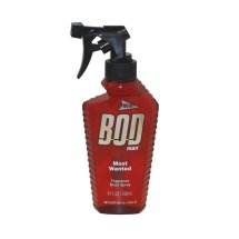 Bod Man Most Wanted Fragrance Body Spray 8.0 Oz / 236 Ml