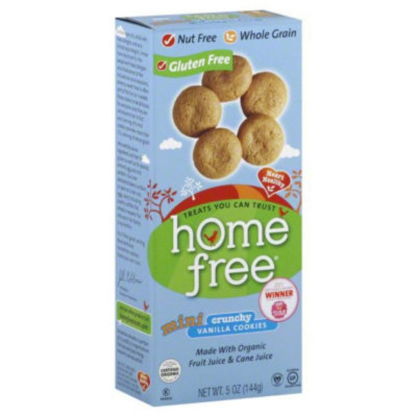 Homefree Mini Crunchy Vanilla Cookies