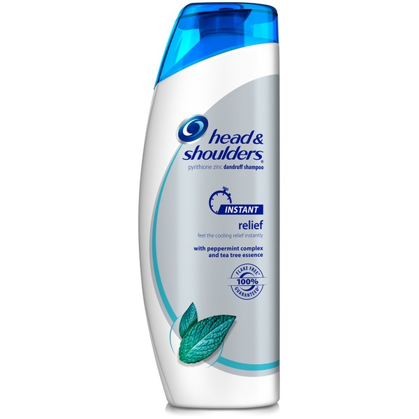 Head & Shoulders Instant Relief Dandruff Shampoo with Tea Tree Essence