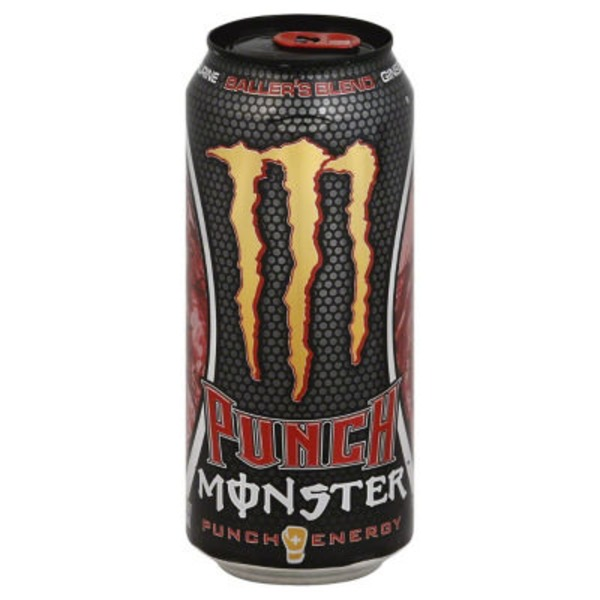 Monster Punch Energy Drink Baller's Blend