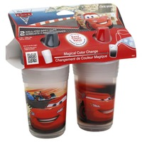 Cars Insulated 2pk Sippy