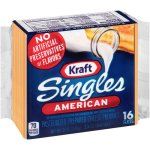 Kraft Singles American Slices 16 ct Cheese, 12 oz