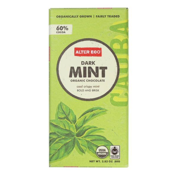 Alter Eco Dark Mint Organic Chocolate