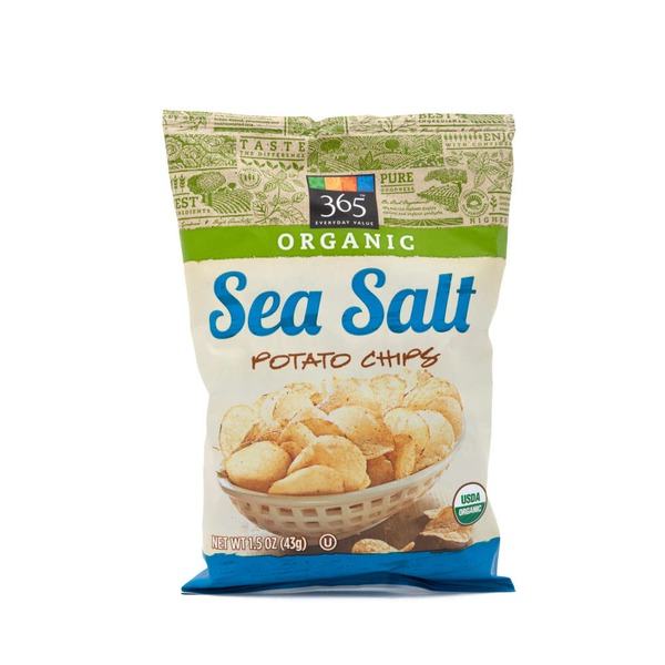 365 Organic Sea Salt Potato Chips