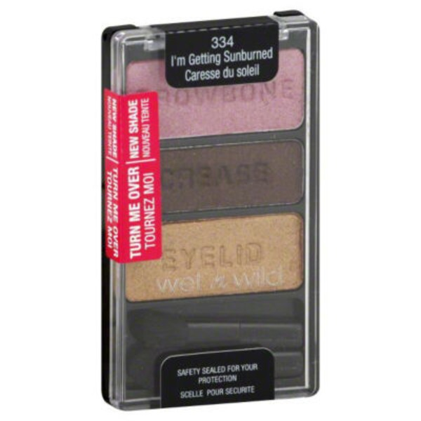 Wet n' Wild Coloricon Eye Shadow Trio 334 I'm Getting Sunburned
