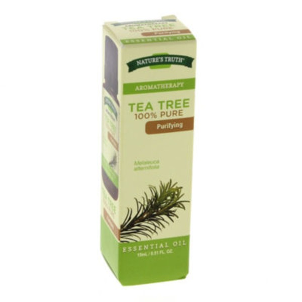 Nature's Truth Organic Aromatherapy Tea Tree 100% Pure Essential Oil