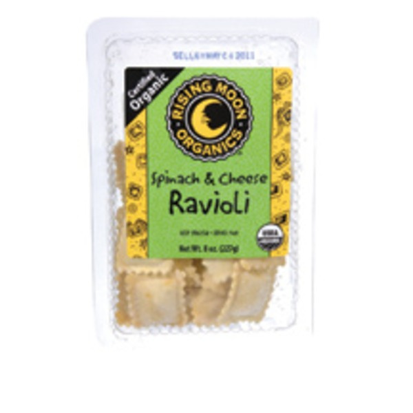 Rising Moon Organics Spinanch & Cheese Ravioli
