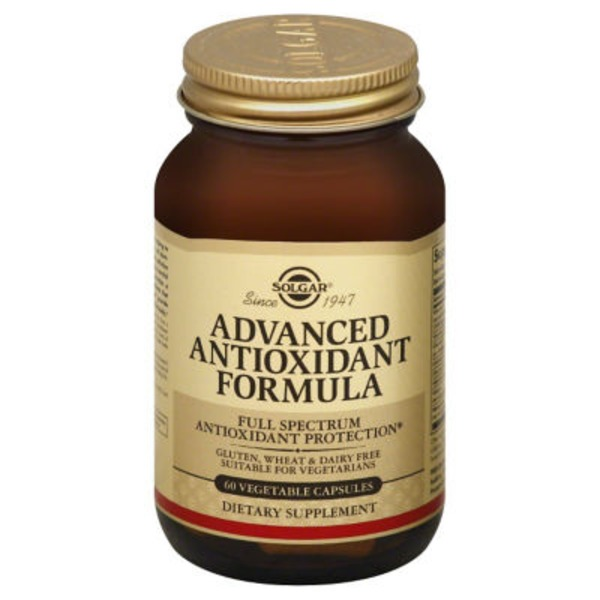 Solgar Advanced Antioxidant Formula Vegetarian Capsules