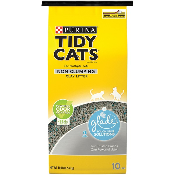 Tidy Cats Non Clumping With Glade Tough Odor Solutions Cat Litter