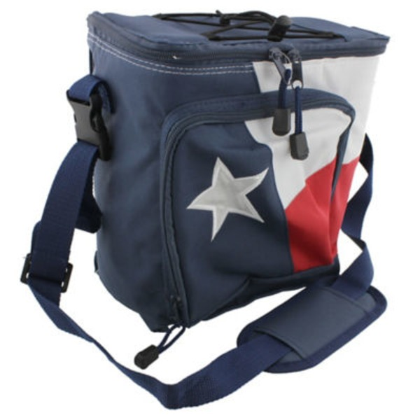 Outdoor Solutions Texas Flag Softside 12 Can Cooler
