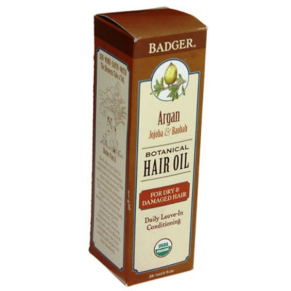 Badger Argan Botanical Hair Oil, Box