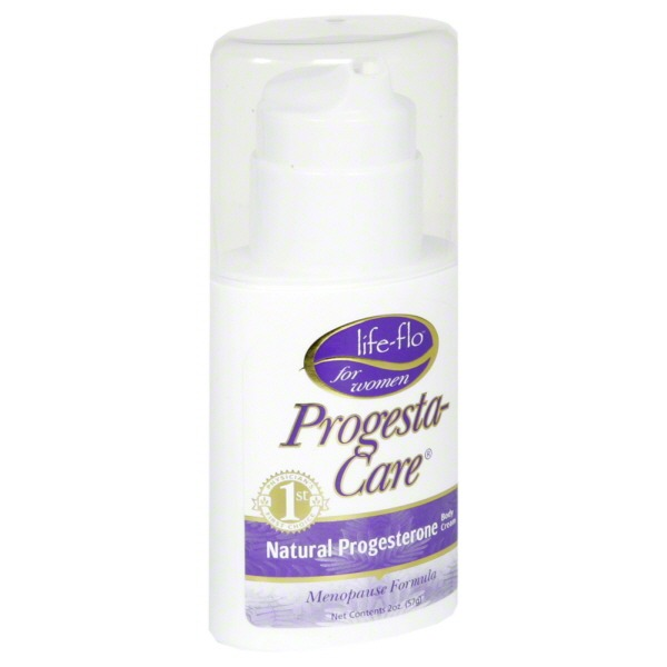Life Flo Health Products Pump Progesta Care Cream