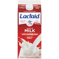 Lactaid 100% Lactose Free Whole Milk