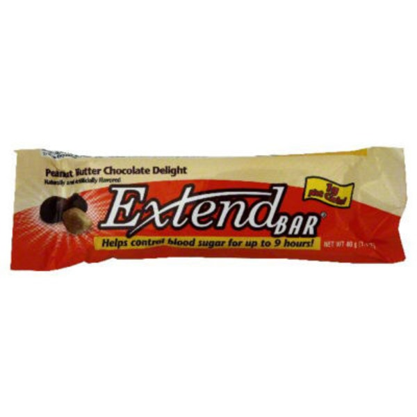 Extend Peanut Butter Chocolate Delight Blood Sugar Control Snack Bar