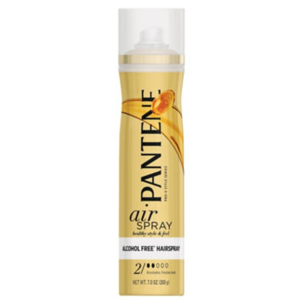 Pantene Styling Pantene Pro-V Airspray Flexible Hold Hair Spray 7 oz  Female Hair Care