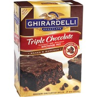 Ghirardelli Chocolate Triple Chocolate Brownie Mix