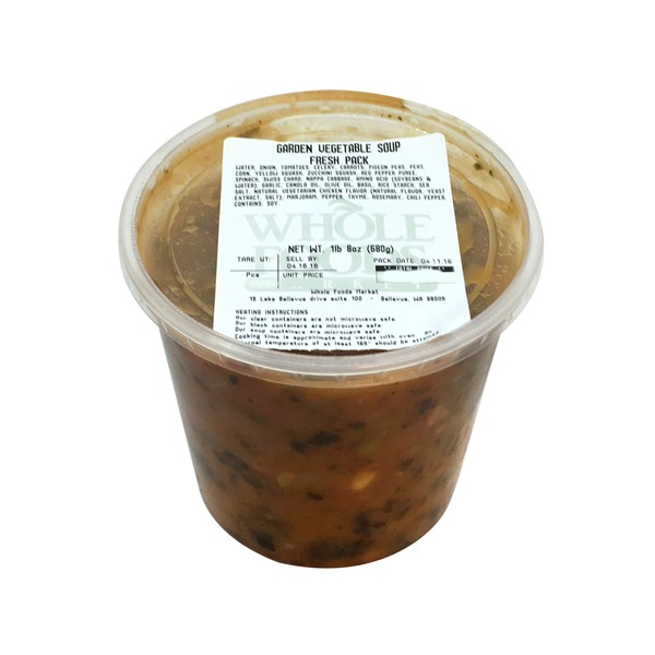 Whole Foods Market Garden Vegetable Soup