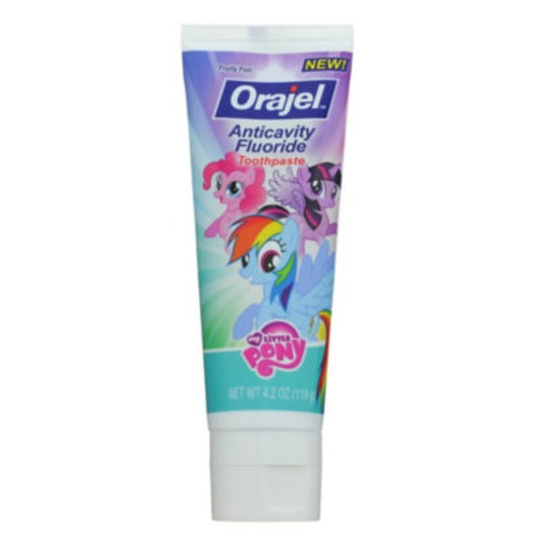 Orajel My Little Pony Fruity Fun Anticavity Fluoride Toothpaste