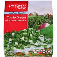 Pictsweet Farms Southern Classics with Diced Turnips Turnip Greens