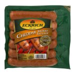 Eckrich Cheddar Smoked Sausage Links, 6 ct