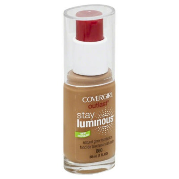 CoverGirl Outlast COVERGIRL Outlast Stay Luminous Foundation, Classic Tan 1 fl oz (30 ml) Female Cosmetics