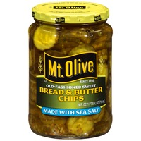 Mt. Olive Bread & Butter Chips Pickles