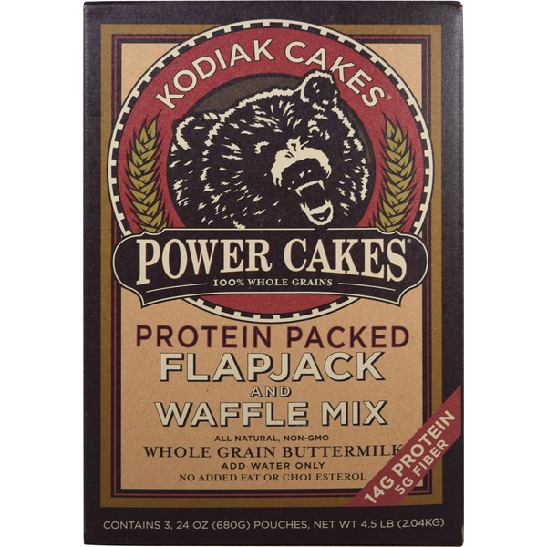 Kodiak Cakes Flapjack \u0026 Waffle Mix, 4.5 lbs From Costco in