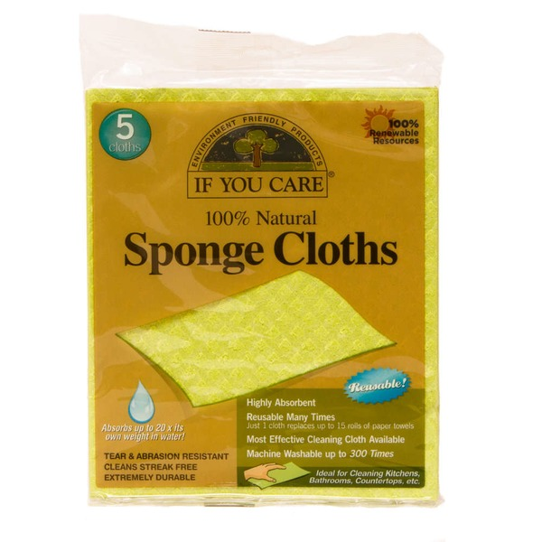 If You Care 100% Natural Sponge Cloths