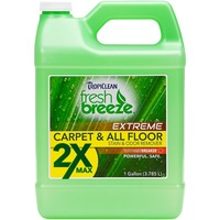 Tropiclean Fresh Breeze Nature's Dog Stain & Odor Remover 2 X Maximum Strength
