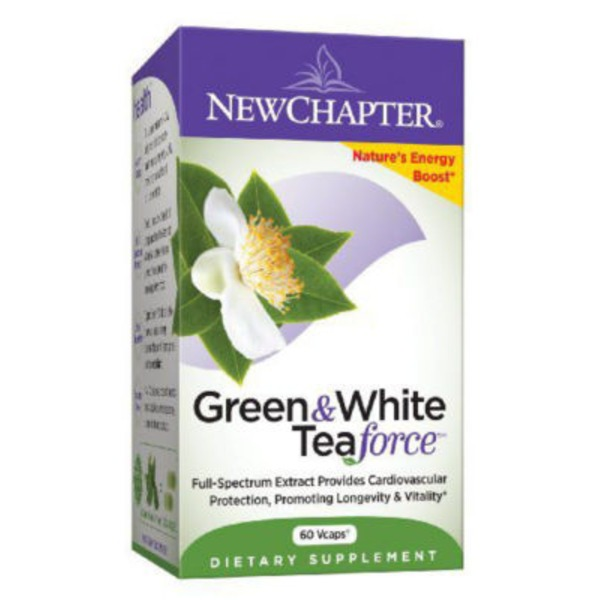 New Chapter Green & White Tea Force Capsules